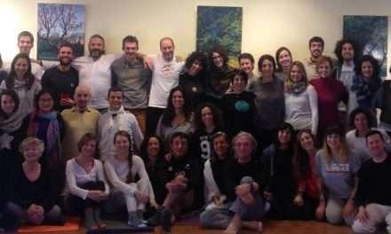 Fotos del seminario de Formación de Profesores de Yoga, Zaragoza, 19-21 de enero de 2018