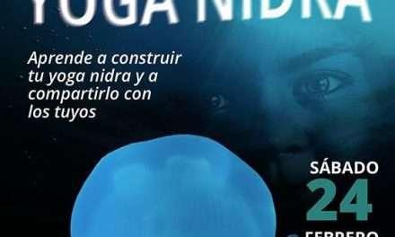Taller de Yoga Nidra con Carlos Dolader. Sábado 24 de febrero 2018