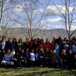 Fotos de yoga y respiración en el Pirineo, Morillo de Tou (Huesca), 16 al 18 de marzo de 2018