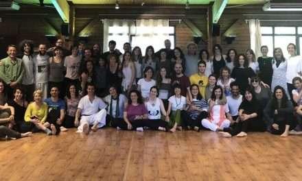 Fotos del seminario de Formación de Profesores de Yoga, Zaragoza, 18-20 de mayo de 2018