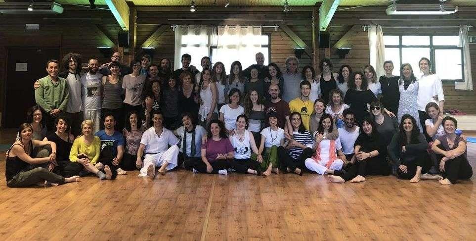 Fotos del seminario de Formación de Profesores de Yoga, Zaragoza, 15-17 de junio de 2018