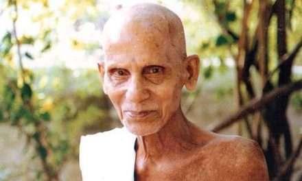 """""""Todo es tu propio Ser."""" Conversaciones con Annamalai Swami"""