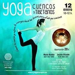 Yoga y cuencos tibetanos