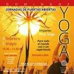 Jornada de yoga de puertas abiertas, domingo 5 de mayo