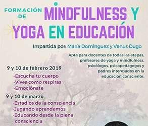 Formación de Mindfulness y Yoga en Educación