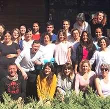 Fotos del seminario de marzo de 2019 de la Escuela de formación de profesores de Yoga y Yogaterapia