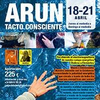 Taller Arun Tacto consciente 18- 21 abril