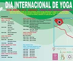 Día Internacional de Yoga. 23 de Junio 2019. Parque Grande, Zaragoza.