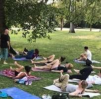 Fotos de la AAYYT: Jornada de fin de curso en la cárcel de Zuera y Día Internacional del Yoga