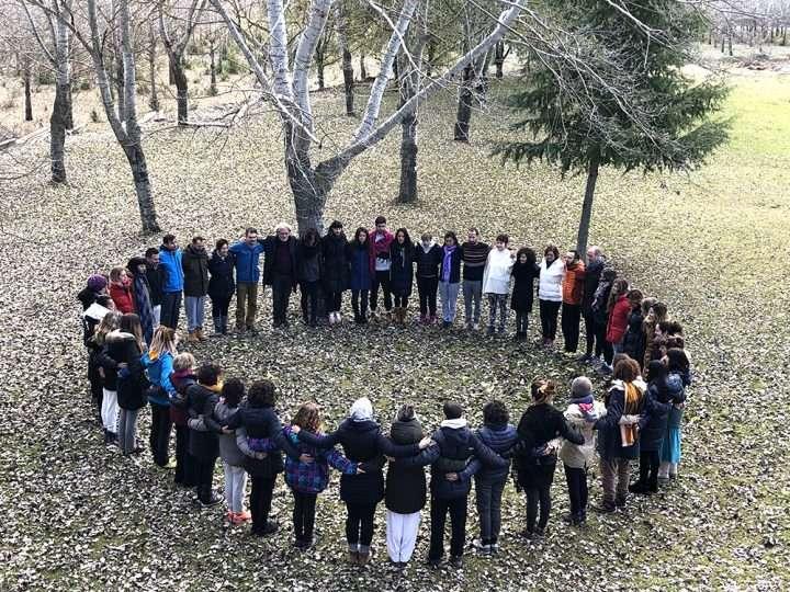 Fotos del Seminario de Morillo de Tou. Formación de Profesores de Yoga y Yogaterapia. Noviembre 2019