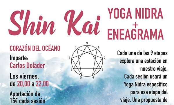 Shin Kai: Yoga nidra + Eneagrama (Viernes 4 de diciembre, ONLINE)