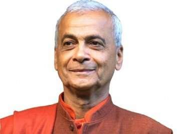 """Maestro de Yoga Swami Muktidharm: """"Uno respira según la forma en la que piensa""""."""